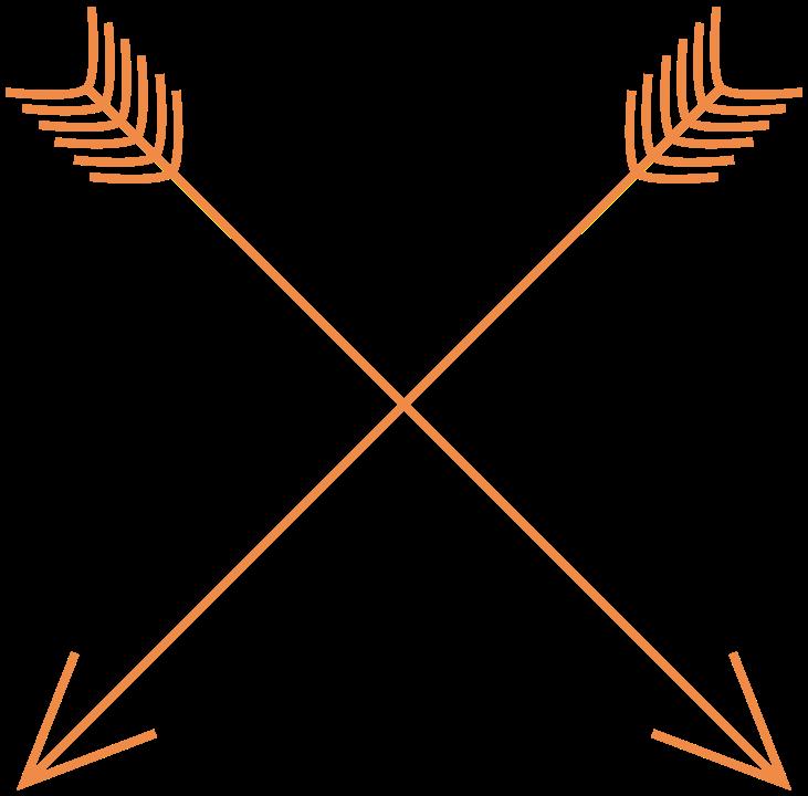 svg freeuse stock Free tribal arrow clipart. Cute vector stock techflourish.