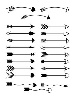 clipart  arrows clip art. Free tribal arrow clipart.