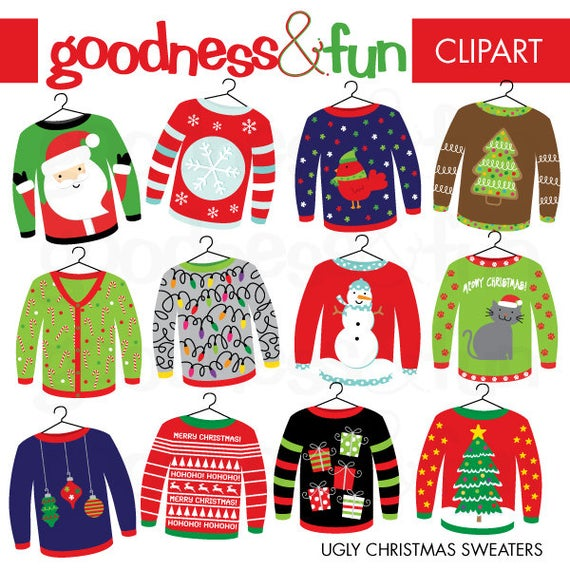 jpg royalty free library Buy get christmas digital. Free ugly sweater clipart