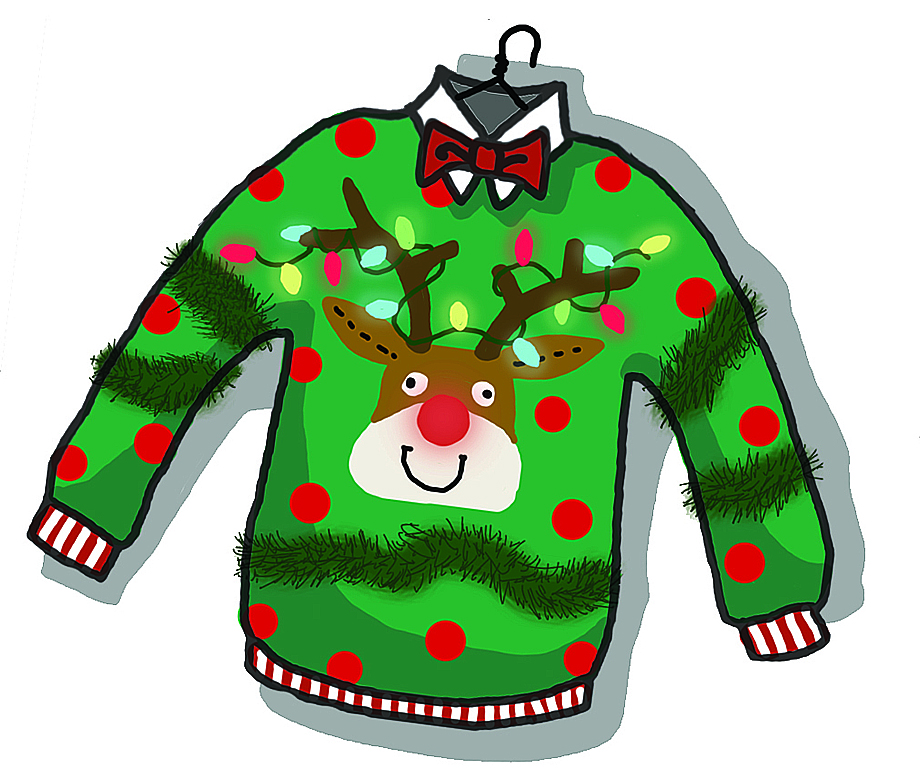 png freeuse stock Sweaters cliparts download clip. Free ugly sweater clipart