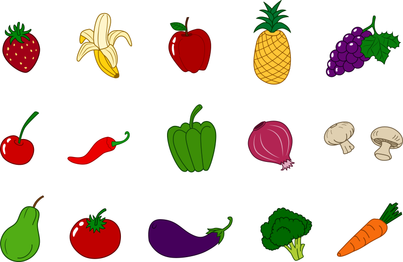 vector freeuse download free vegetable clipart images #63455496