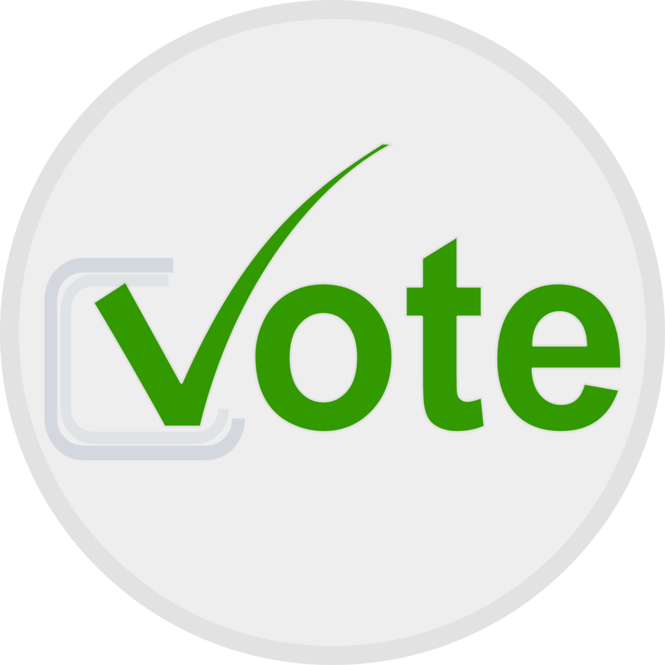 clip art transparent library Free vote clipart. Public domain clip art
