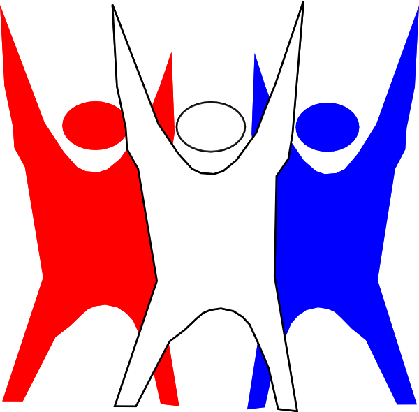 free Freedom clipart. Red white and blue.