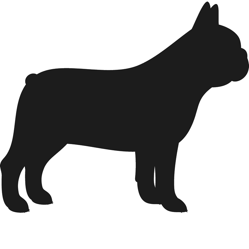 png transparent stock French Bulldog Stamp