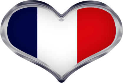picture transparent Free animated france flags. French clipart.