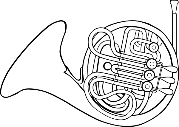 image transparent library French Horn