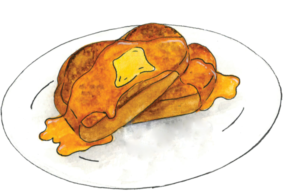 banner library stock french toast clipart #63829774
