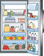 graphic royalty free library Free cliparts download clip. Fridge clipart
