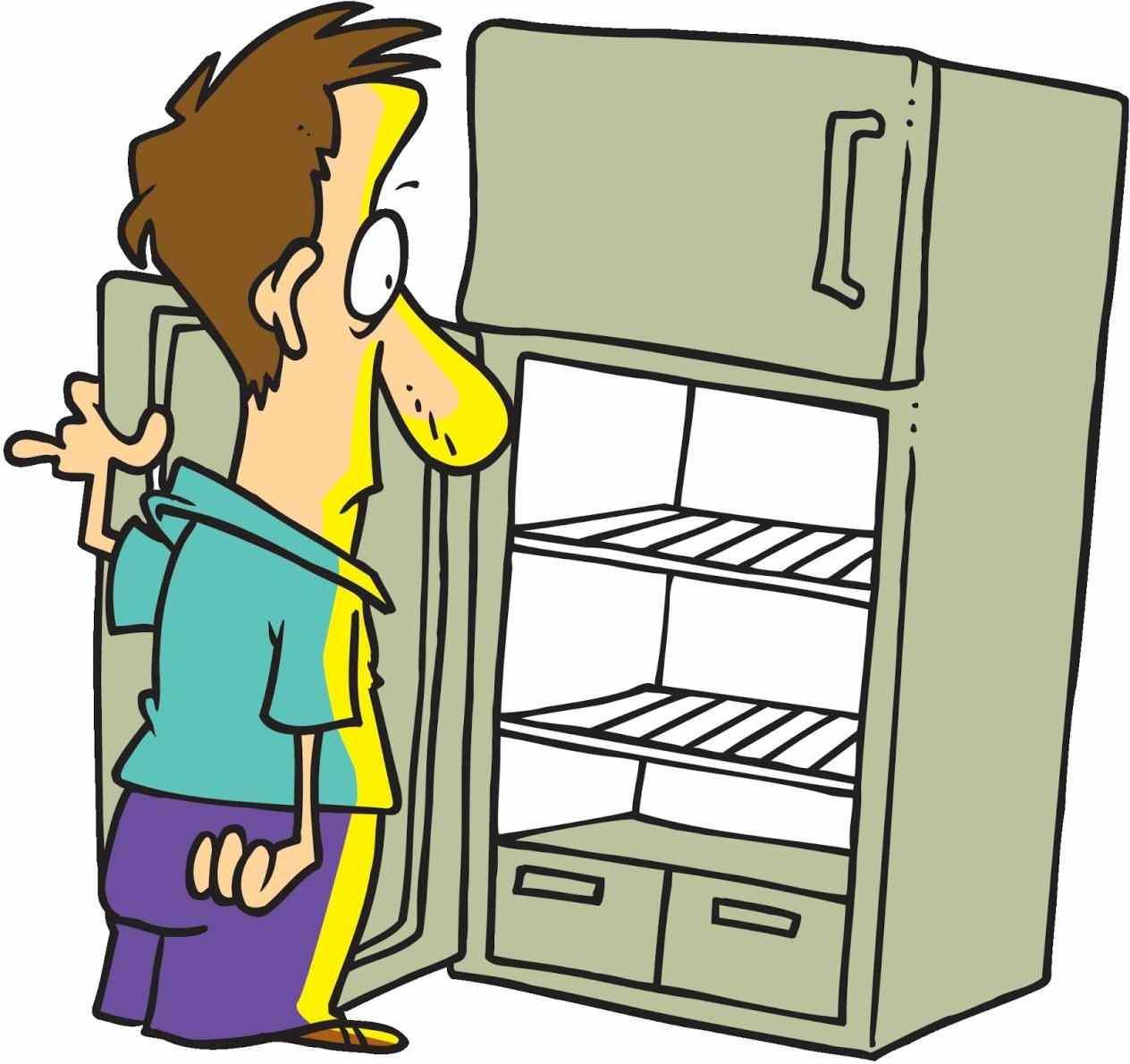 svg transparent library Refrigerator free download best. Fridge clipart opened
