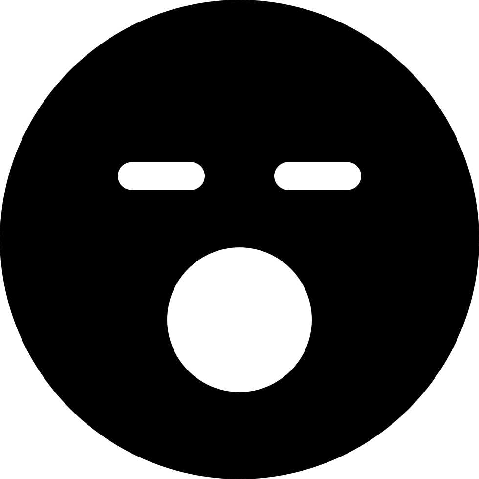 svg black and white library Fridge clipart opened. Sleeping face with mouth
