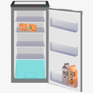 image freeuse library Refrigerator open cliparts png. Fridge clipart opened