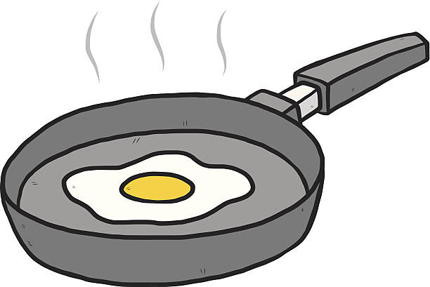 clip art freeuse download Fried egg free download. Frying clipart.