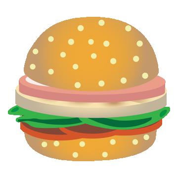 svg free download Chicken png vectors psd. Vector burger top view