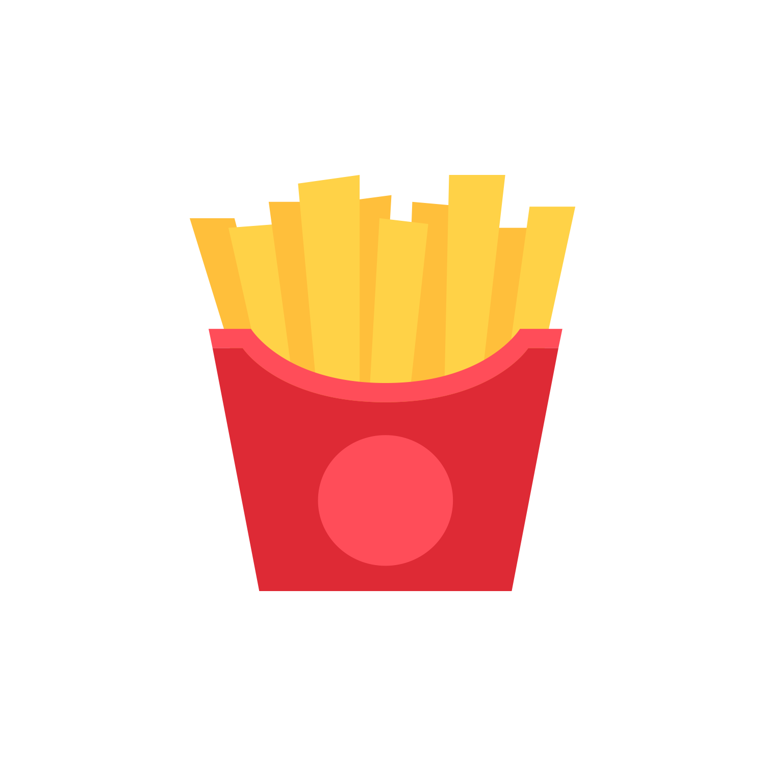 image royalty free library Mcdonalds clipart neon. French fries popcorn clip.