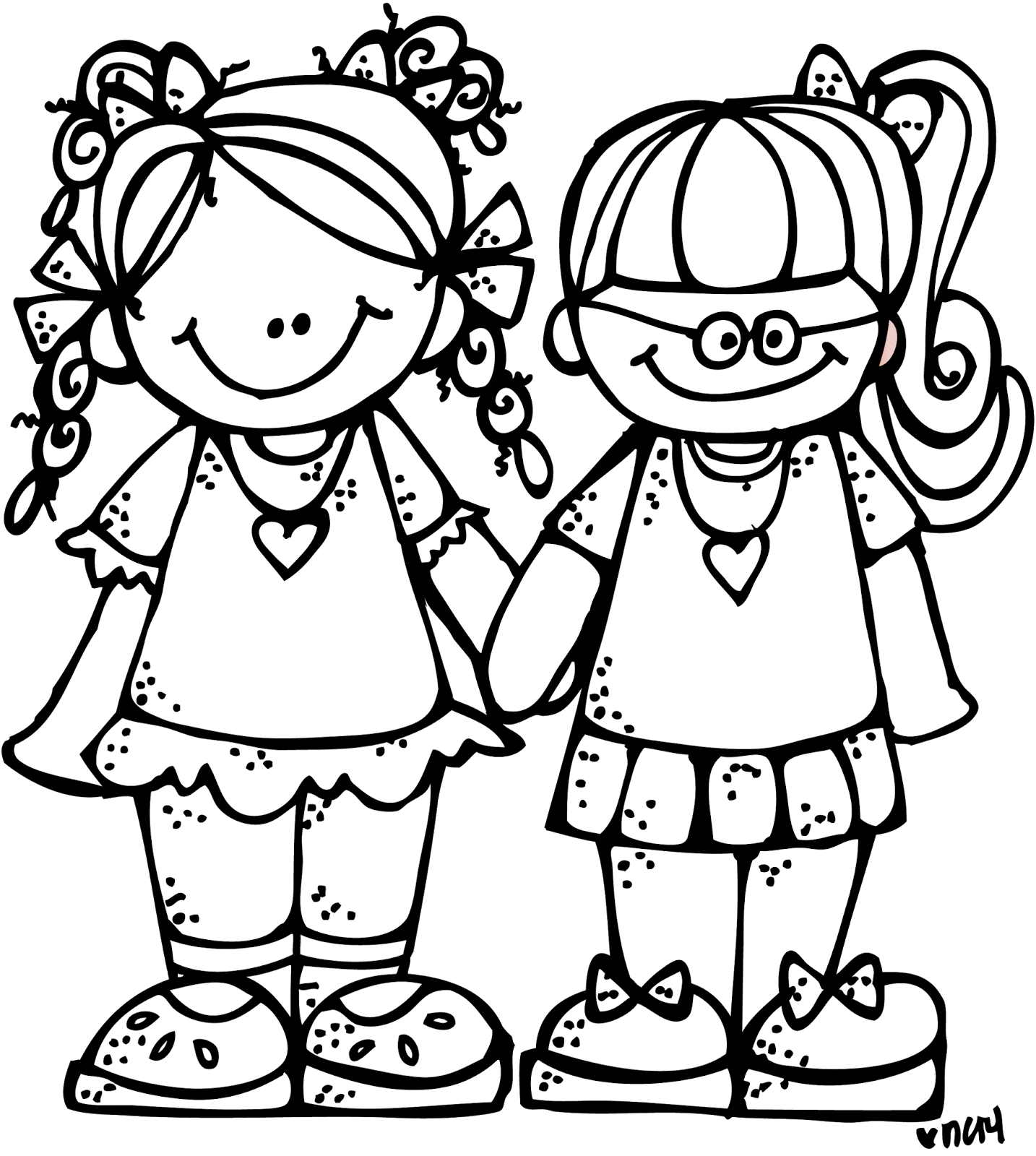 clip black and white library Good morning clipart black and white. Melonheadz illustrating freebie forever