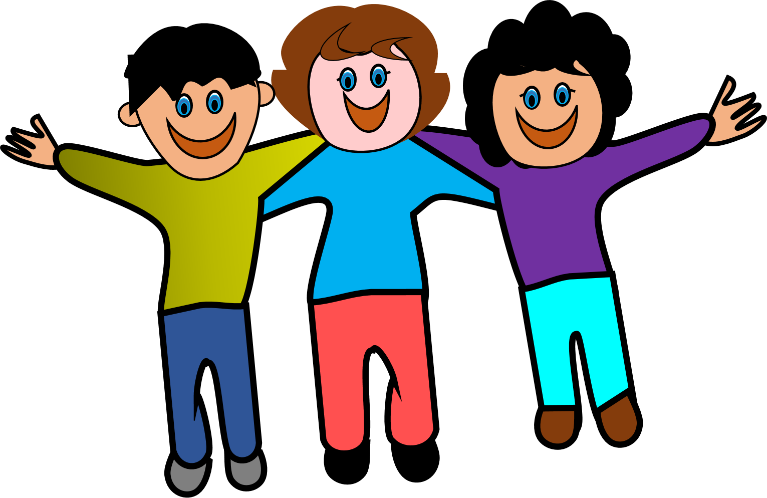 vector royalty free stock group of friends having fun clipart #63852408