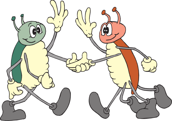 vector Bugs clip art at. Friendly clipart.