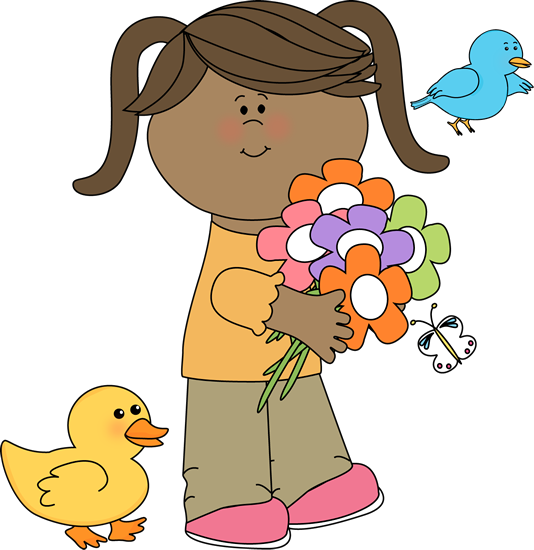 png royalty free Cute Spring Clip Art