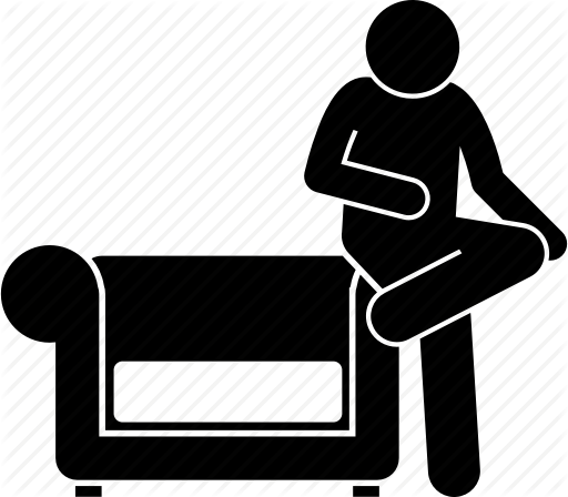 clip royalty free stock Couch Silhouette at GetDrawings