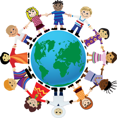 picture library library Celebration clipart children day. Clip art for international