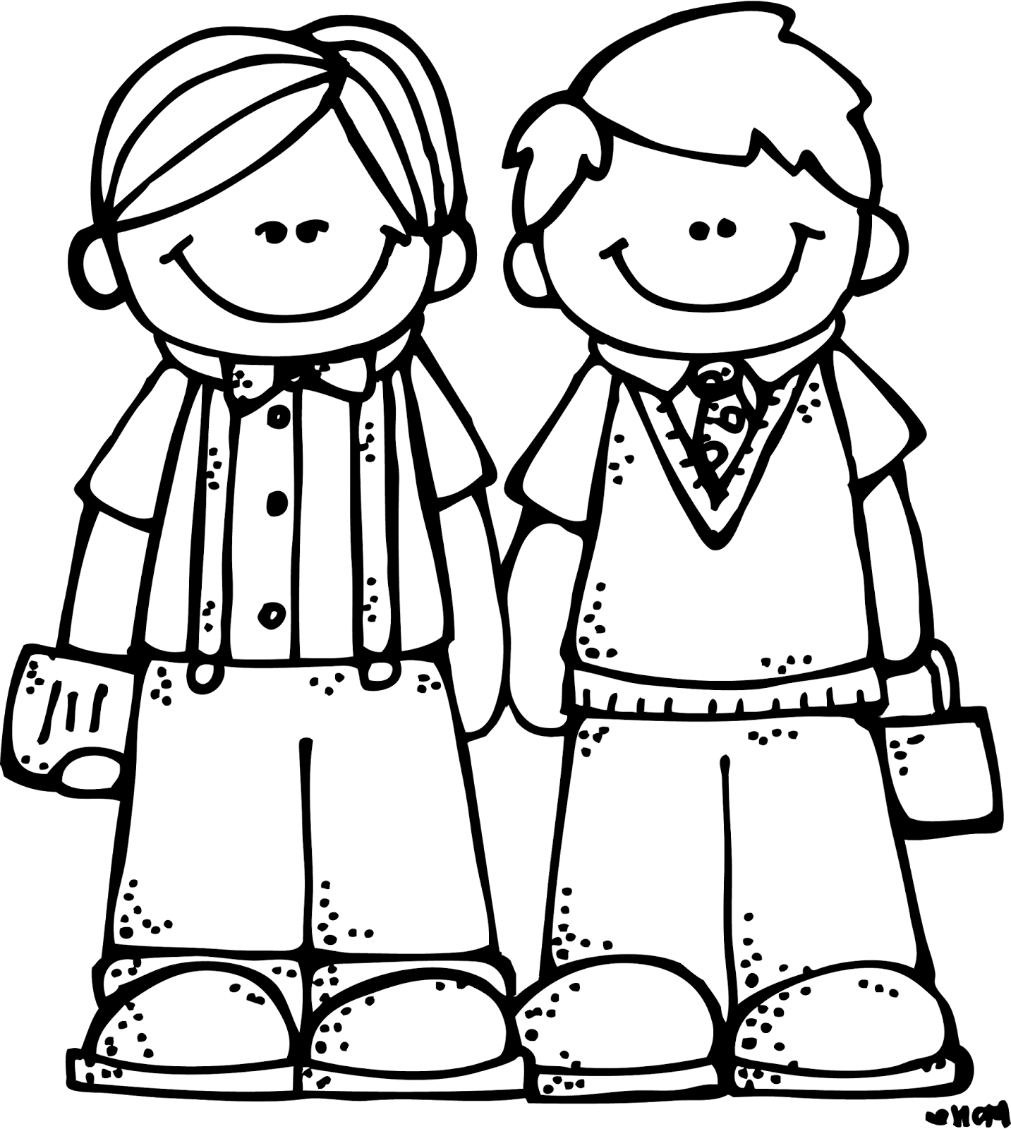 svg black and white Friendship Clipart Black And White