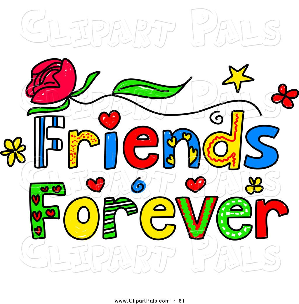 jpg library library Friends clipart free. Friendship clip art panda