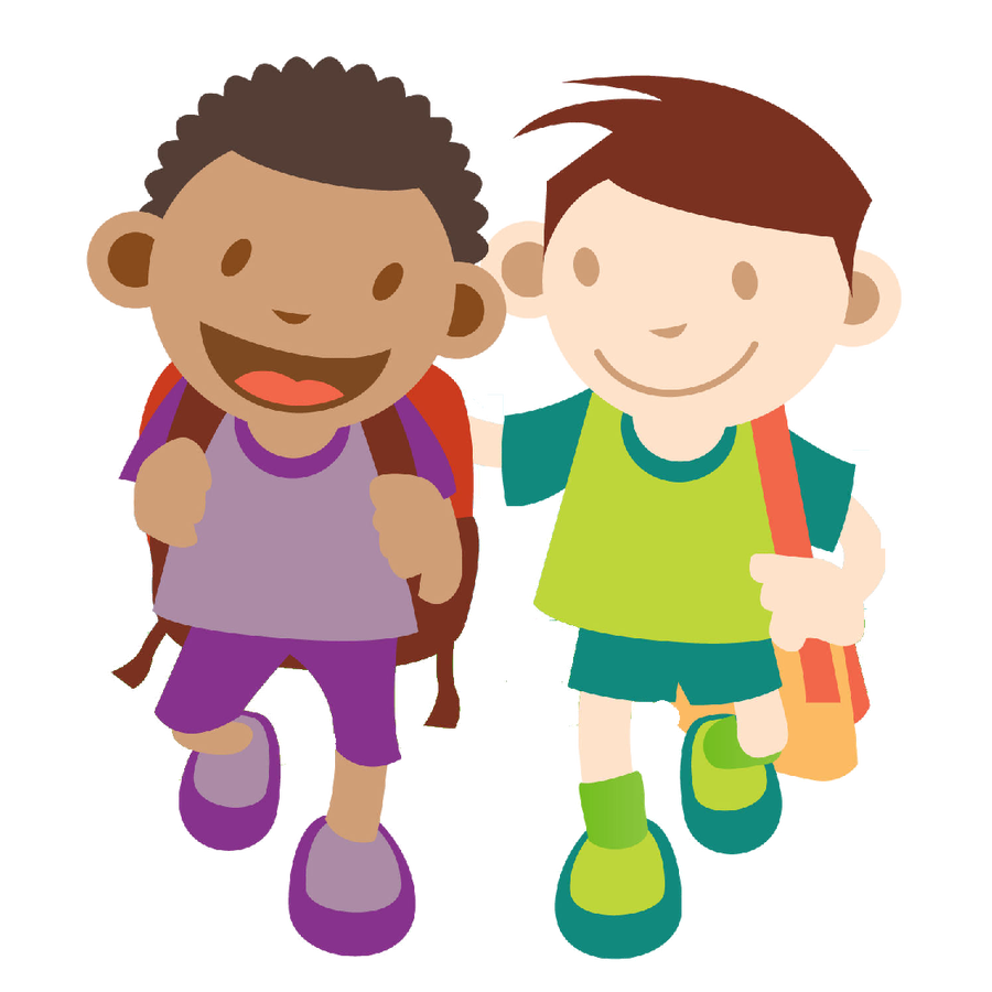 clip art transparent download The willows primary school. Walking home clipart