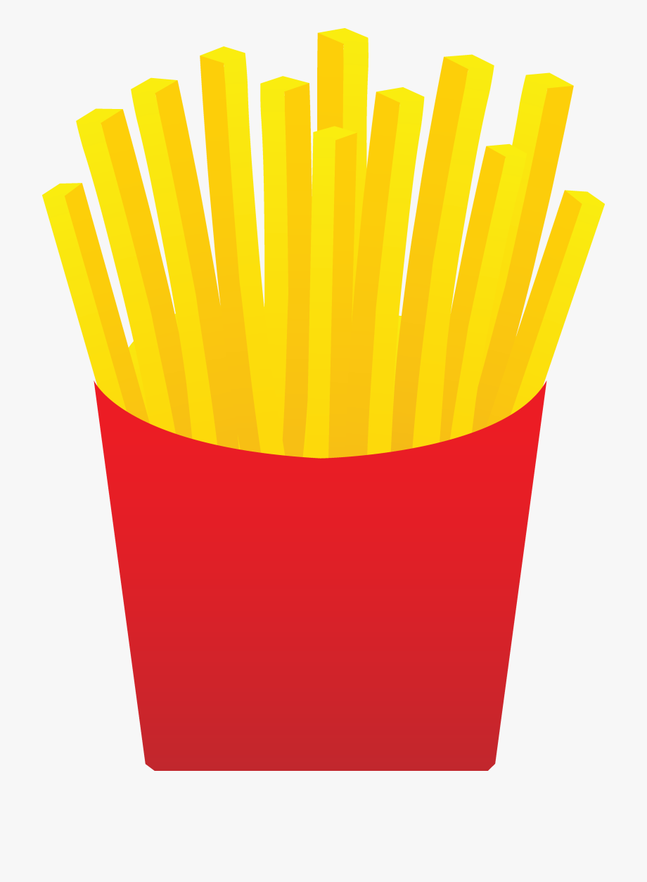 svg Fries clipart. Fast food french clip.