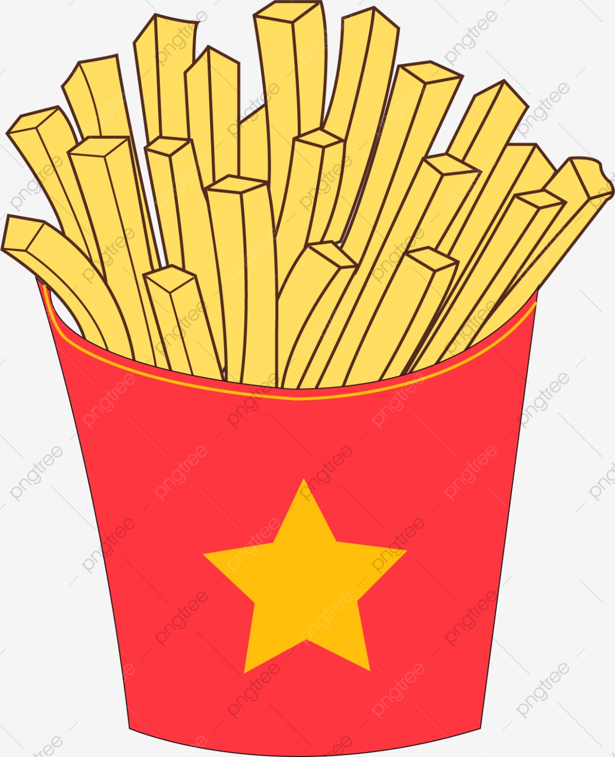 clip art library download French beautiful png . Fries clipart