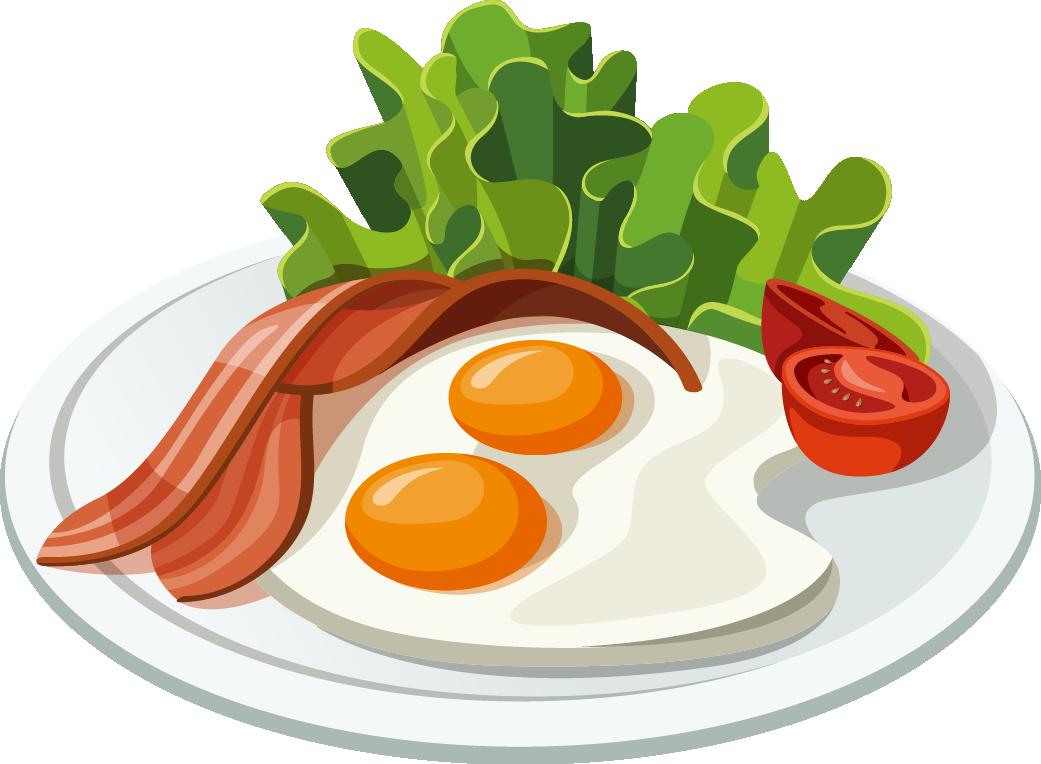 clip art library Fast food belgian bacon. Waffle breakfast clipart