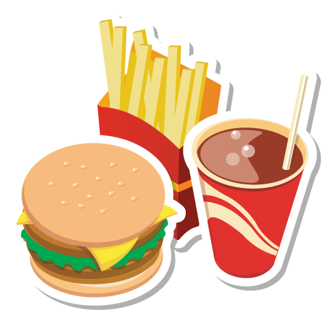 clipart library library Junk clipart unhealthy diet. Food png transparent images.