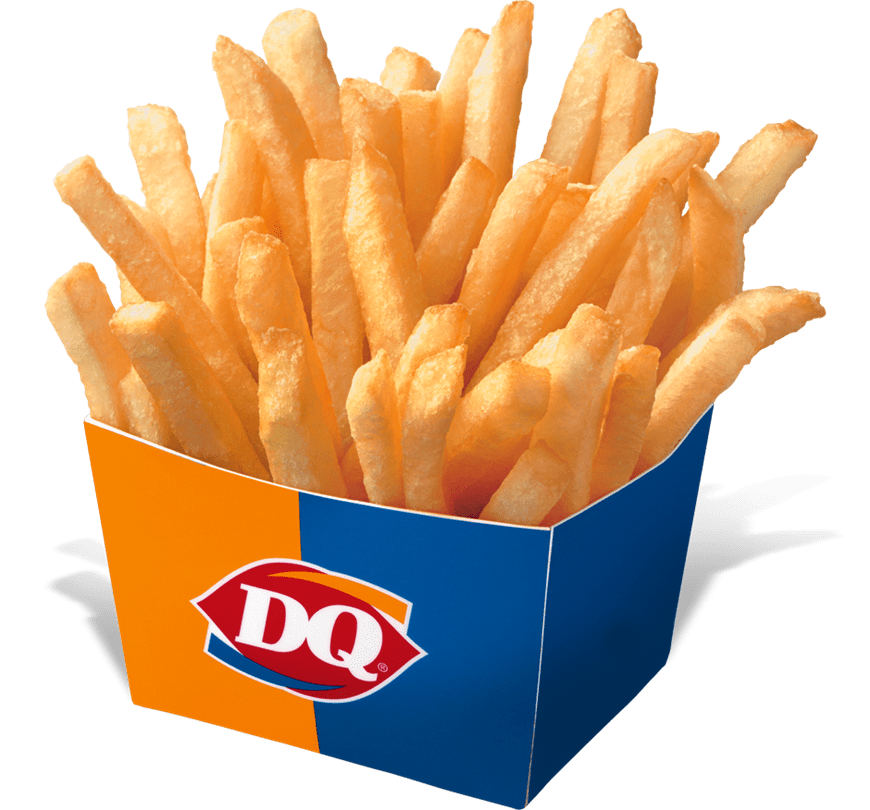 picture freeuse download Dairy queen png stickpng. Fries transparent