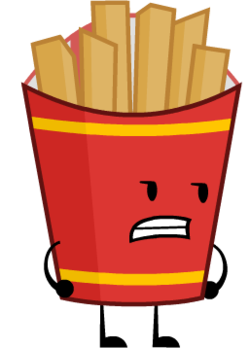clip royalty free download Fries transparent bfdi. Object shows community fandom