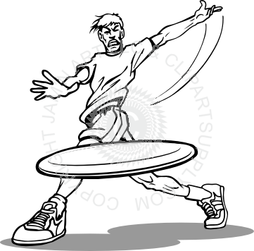 png black and white Frisbee clipart. Throw