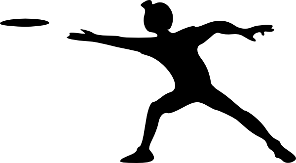 image black and white download Clip art at clker. Frisbee clipart.