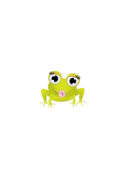 banner free library Shopping bag Baby Frog