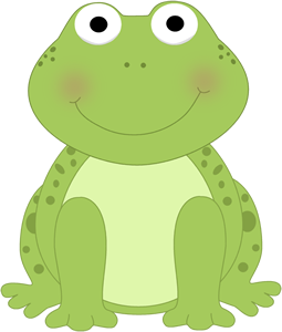 graphic black and white download Cute Frog