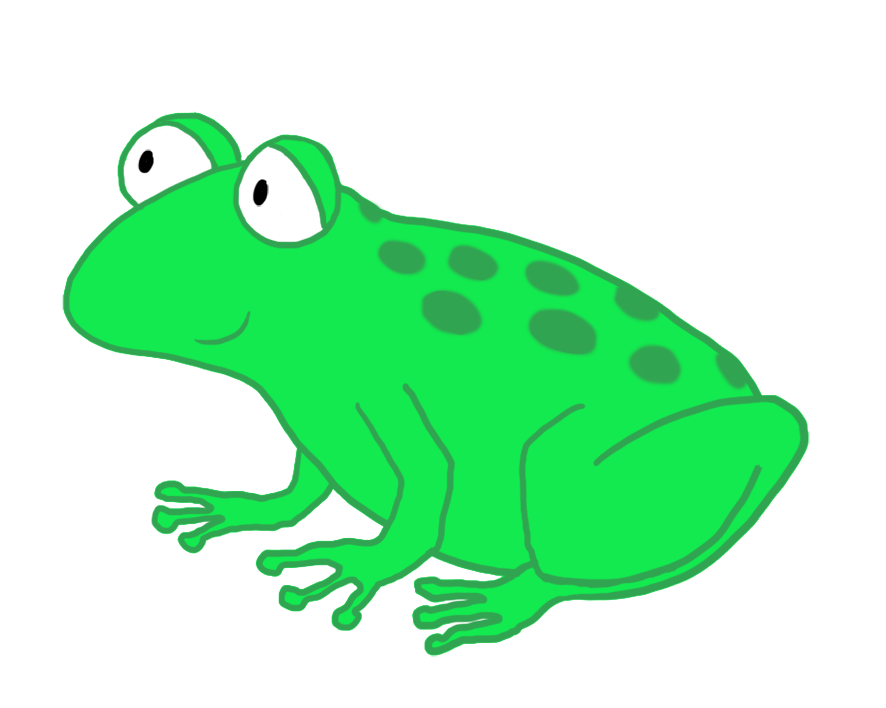 vector black and white Coqui Frog Drawing at GetDrawings