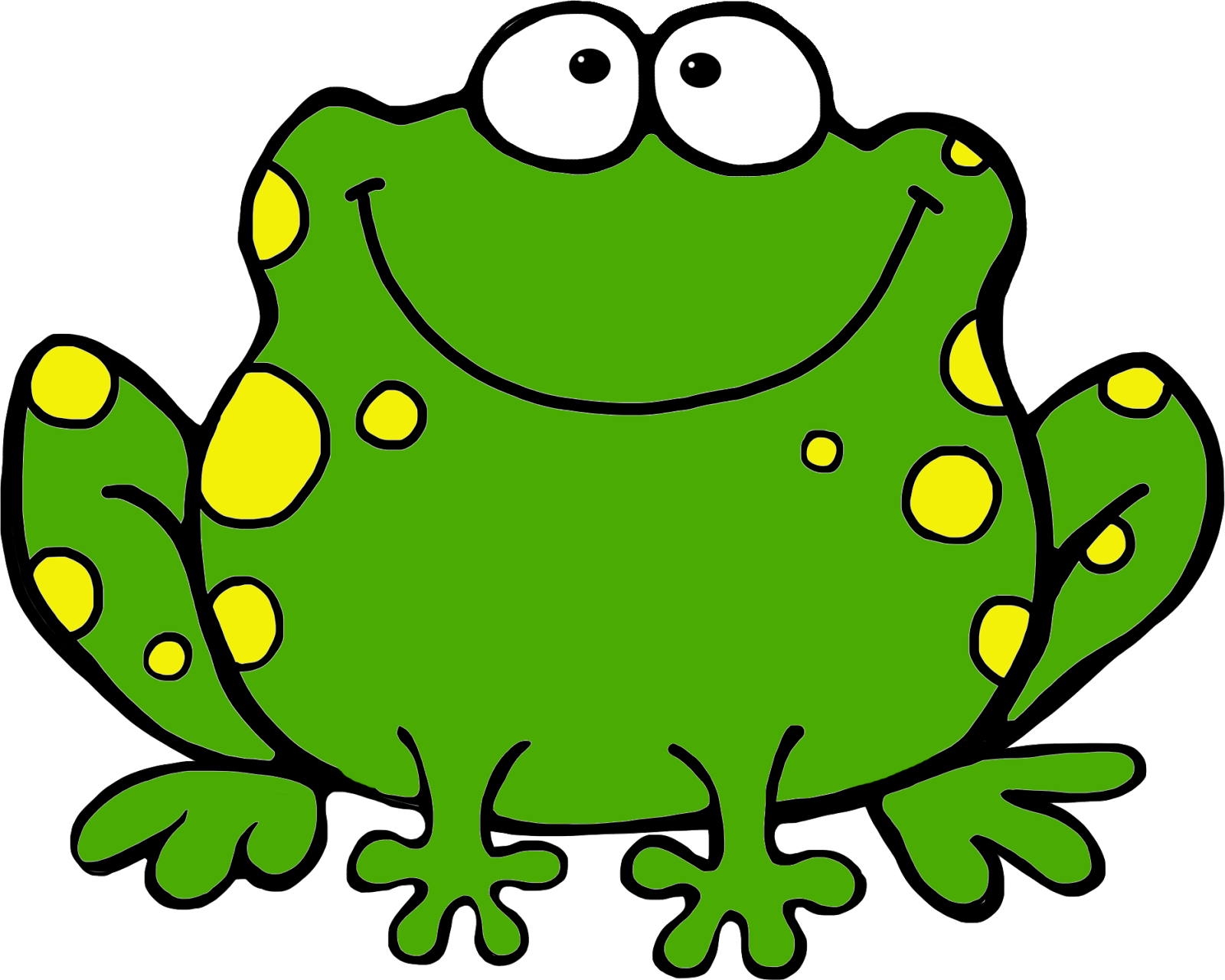 clipart free library Green . Frog clipart