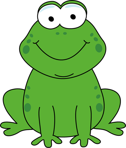 vector transparent library Cartoon Frog Clipart