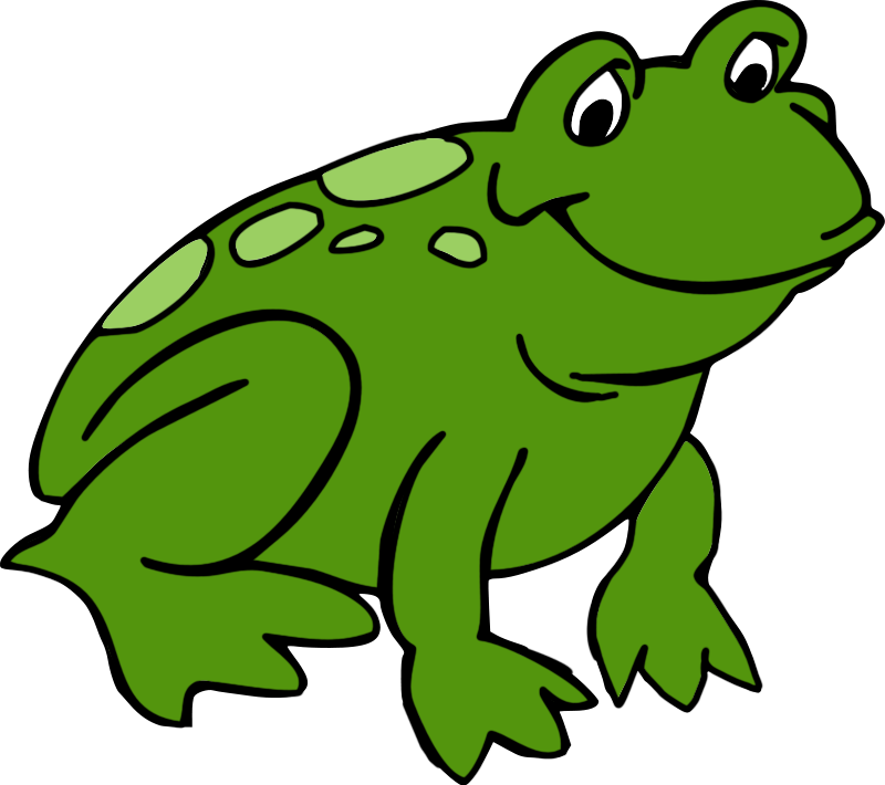 svg royalty free stock Frogs clipart. Cute frog clipartix
