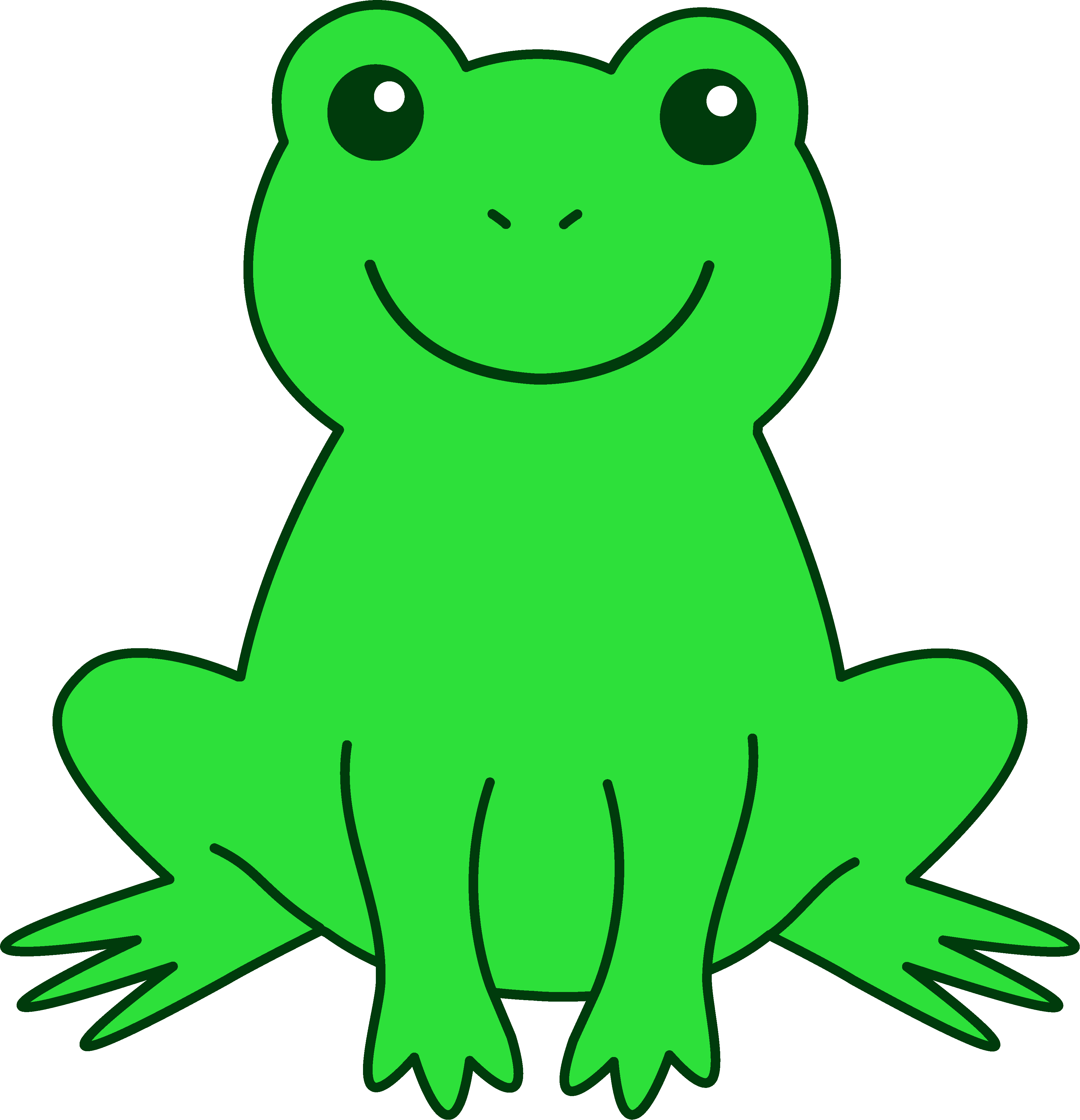 banner freeuse Young Frog Cliparts