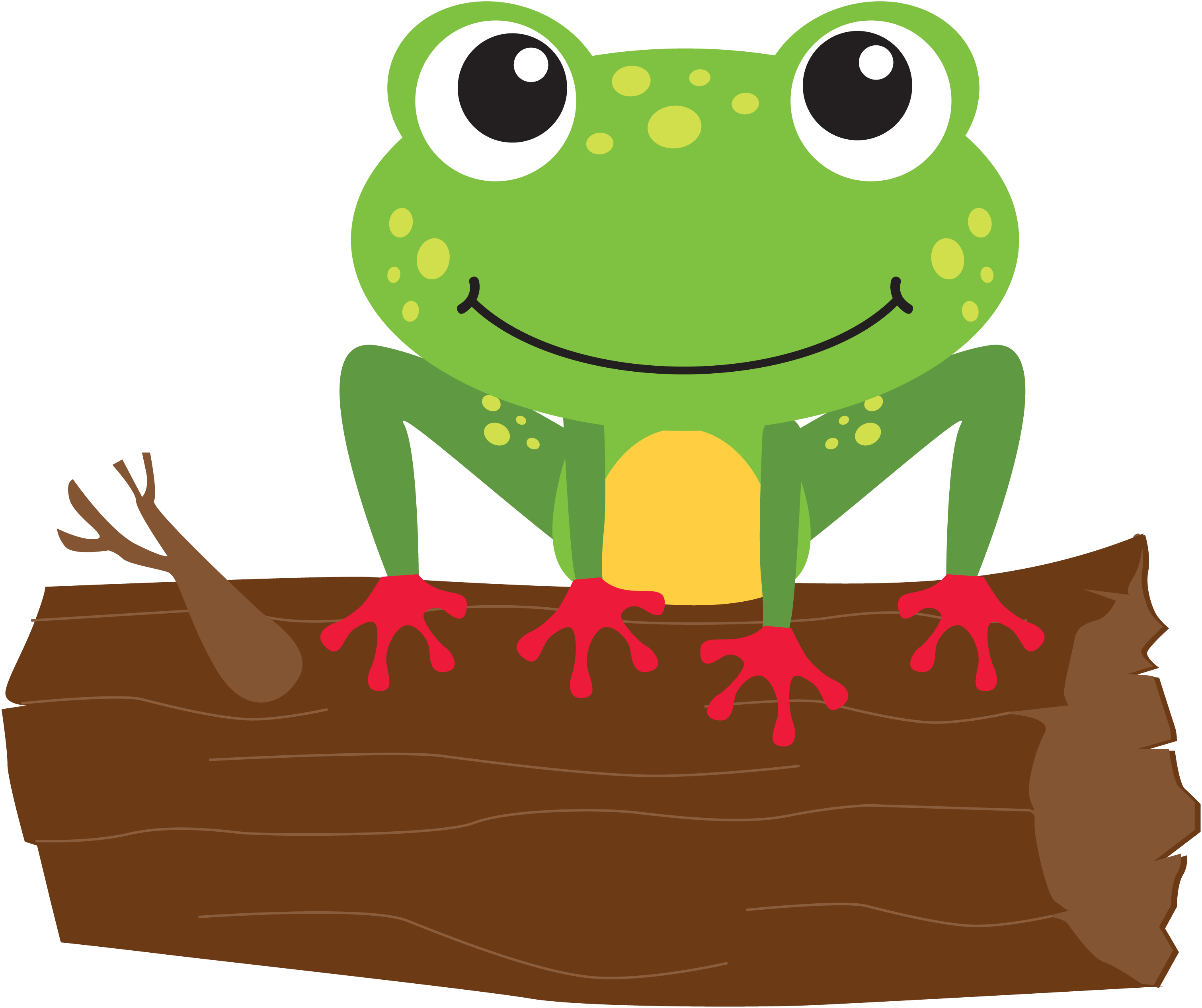 png freeuse library Frogs clipart summer