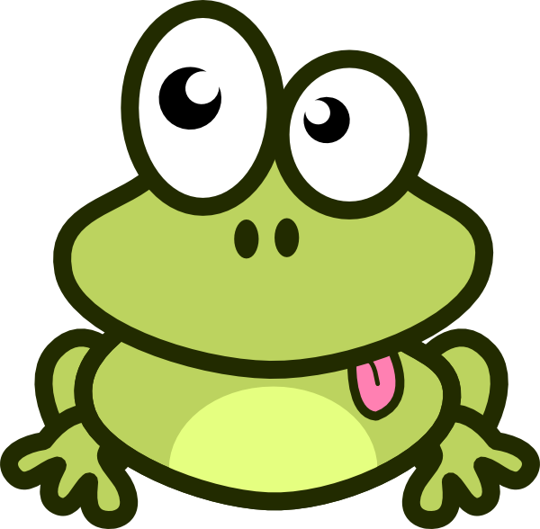free library Cartoon Frog Clip Art