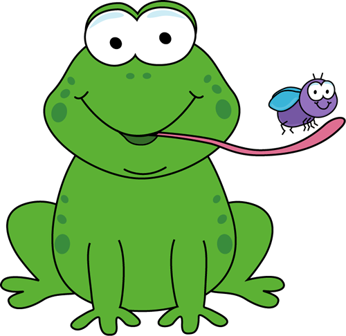 png transparent download Tongue clipart frog. Drawings eating a fly