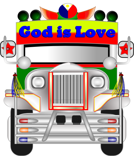 picture transparent stock Jeepney clip art at. Front of jeep clipart