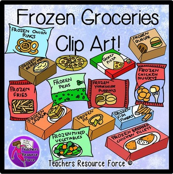 clip art royalty free stock Free meal cliparts download. Supermarket clipart frozen food