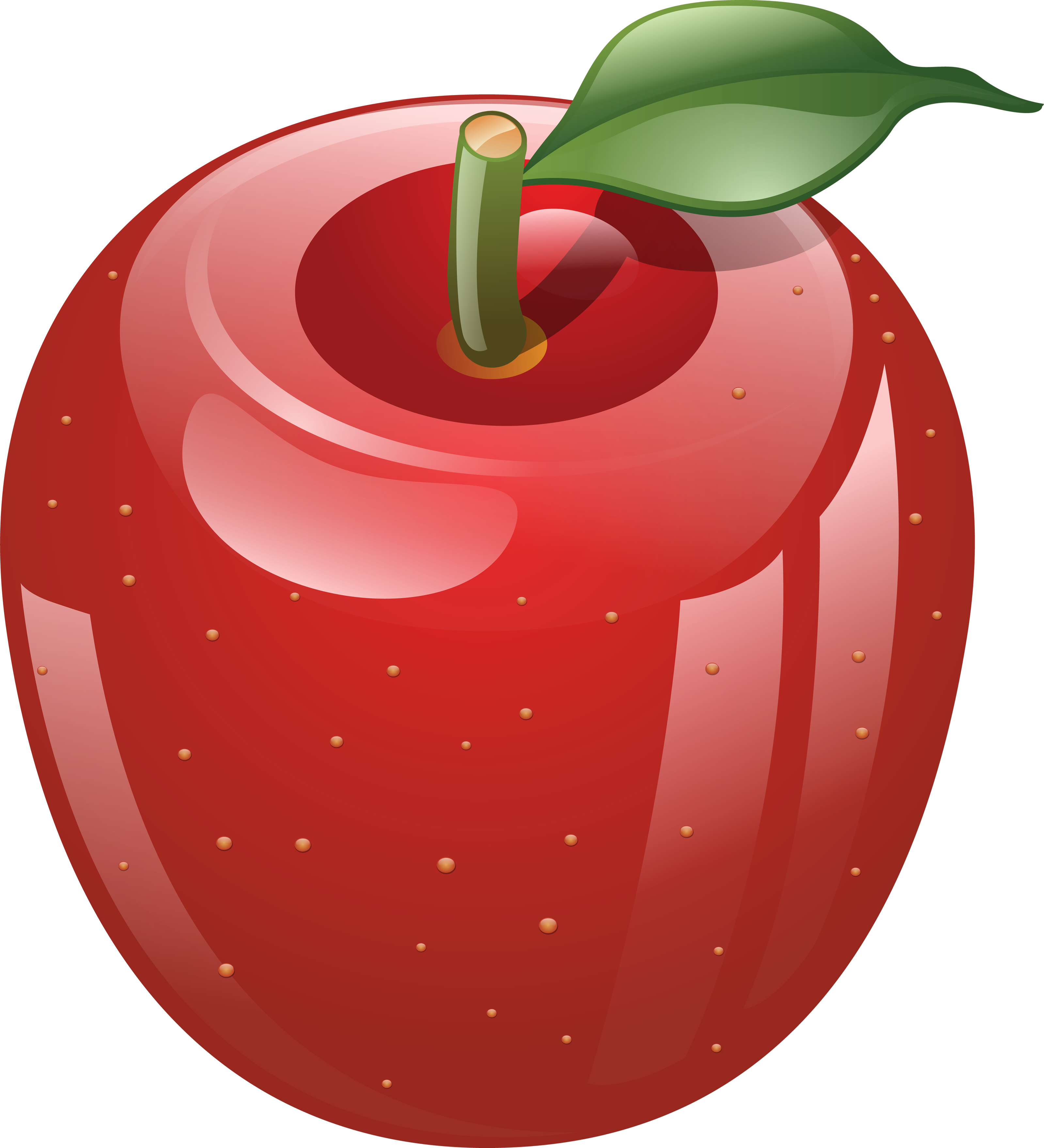 image Fruit clipart. Apple smiley free on.