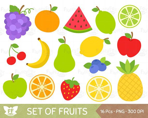 png transparent library Fruits clip art grape. Fruit clipart.