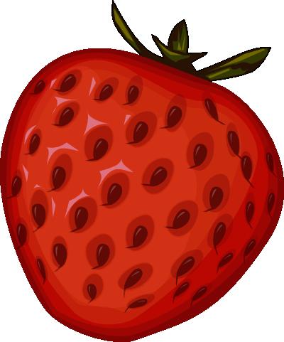 banner free stock strawberry clip art